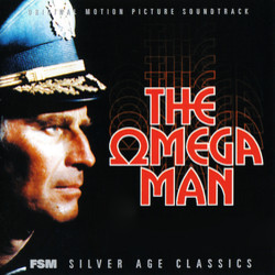 The Omega Man Soundtrack (Ron Grainer) - Carátula