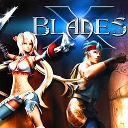 X-Blades Soundtrack (Various Artists) - CD cover