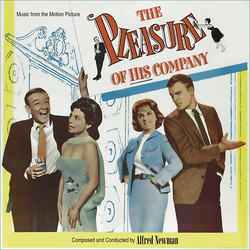 The Pleasure of His Company Soundtrack (Alfred Newman) - CD cover