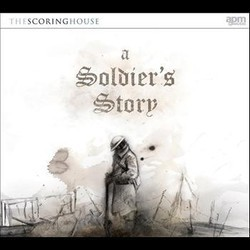 A Soldier's Story Soundtrack (Barnaby J.Robson) - CD cover