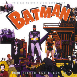 Batman Soundtrack (Nelson Riddle) - CD-Cover
