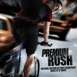 Premium Rush Soundtrack (David Sardy) - CD cover