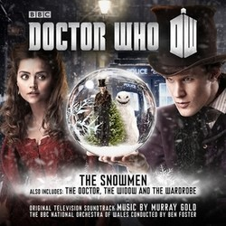 Doctor Who: The Snowmen / The Doctor, the Widow and the Wardrobe Soundtrack (Murray Gold) - CD cover