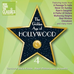 The Golden Age of Hollywood 4 Soundtrack (Various Artists) - CD cover