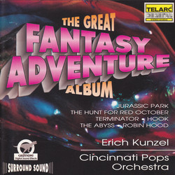 The Great Fantasy Adventure Album Soundtrack (Various Artists) - CD cover