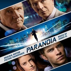 Paranoia Soundtrack ( Junkie XL) - CD cover