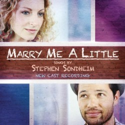 Marry Me A Little Soundtrack (Various Artists, Stephen Sondheim) - CD cover