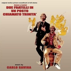 Jesse & Lester: Due fratelli in un posto chiamato Trinit� Soundtrack  (Carlo Savina) - CD cover
