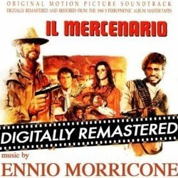 Il Mercenario Soundtrack (Ennio Morricone, Bruno Nicolai) - CD cover