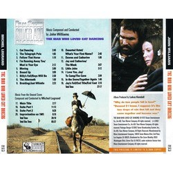 The Man Who Loved Cat Dancing Soundtrack (Michel Legrand, John Williams) - CD Trasero
