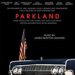 Parkland Soundtrack (James Newton Howard) - CD cover