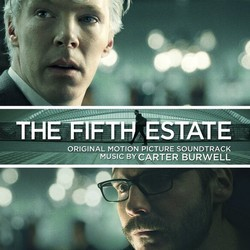 The Fifth Estate Soundtrack (Carter Burwell) - CD cover