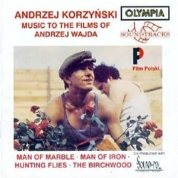 Music to the Films of Andrzej Wajda 聲帶 (Andrzej Korzynski) - CD封面