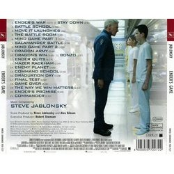 Ender's Game Soundtrack (Steve Jablonsky) - CD Back cover
