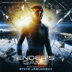 Ender's Game Soundtrack (Steve Jablonsky) - CD cover