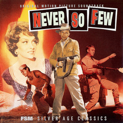 Never So Few/7 Women Soundtrack (Elmer Bernstein, Hugo Friedhofer) - CD cover