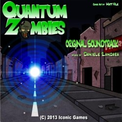 Quantum Zombies Soundtrack (Daniele Zandara) - CD cover