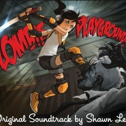 Zombie Playground Soundtrack (Shawn Lee) - CD cover