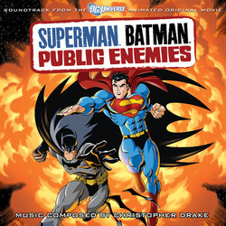 Superman Batman: Public Enemies 聲帶 (Christopher Drake) - CD封面