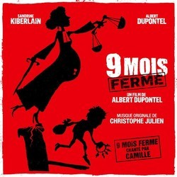 9 mois ferm� Soundtrack (Christophe Julien) - CD cover