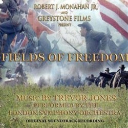 Fields of Freedom Soundtrack (Trevor Jones) - CD cover