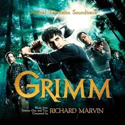 Grimm Soundtrack (Richard Marvin) - CD cover