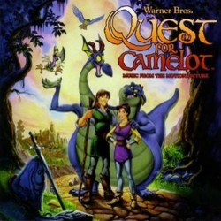 Quest for Camelot 聲帶 (Various Artists, Patrick Doyle) - CD封面