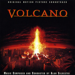 Volcano Soundtrack (Alan Silvestri) - CD cover