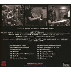 Room 237 Soundtrack (William Hutson, Jonathan Snipes) - CD Back cover