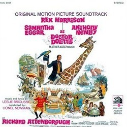 Doctor Dolittle Soundtrack (Leslie Bricusse, Leslie Bricusse, Original Cast) - CD cover