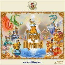The Legend of Mythica Trilha sonora (Alan Silvestri) - capa de CD