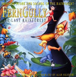 FernGully: The Last Rainforest サウンドトラック (Alan Silvestri) - CDカバー