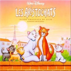 Les AristoChats Soundtrack (George Bruns, Richard M. Sherman, Robert B. Sherman) - CD-Cover