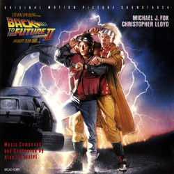 Back to the Future Part II Soundtrack (Alan Silvestri) - Carátula