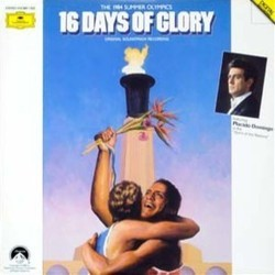 16 Days of Glory: The Spirit of the Olympics Soundtrack (Lee Holdridge) - CD cover