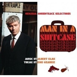 Man in a Suitcase Soundtrack (Albert Elms, Ron Grainer) - CD cover