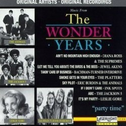 The Wonder Years Vol. 4 Soundtrack (Various Artists, Stewart Levin, W.G. Snuffy Walden) - Carátula