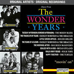 The Wonder Years Vol. 5 Soundtrack (Various Artists, Stewart Levin, W.G. Snuffy Walden) - Carátula