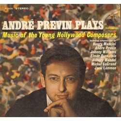 Andre Previn Plays Soundtrack (Elmer Bernstein, Michel Legrand, Jack Lemmon, Henry Mancini, Johnny Mandel, André Previn, John Williams) - CD cover
