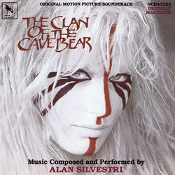 The Clan of the Cave Bear Soundtrack (Alan Silvestri) - Carátula
