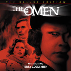 The Omen Soundtrack (Jerry Goldsmith) - CD cover