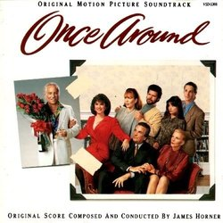Once Around Soundtrack (Various Artists, James Horner) - Carátula