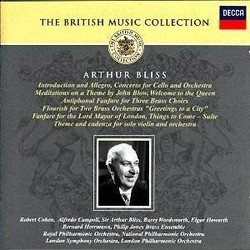 Bliss: Orchestral Works Soundtrack (Arthur Bliss) - CD-Cover
