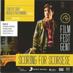 Film Fest Gent and Brussels Philarmonic present Scoring for Scorsese 声带 (Various Artists, Elmer Bernstein, Philip Glass, Bernard Herrmann, Howard Shore) - CD封面