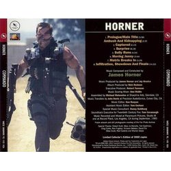 Commando Soundtrack (James Horner) - CD Trasero