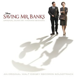 Saving Mr. Banks サウンドトラック (Thomas Newman) - CDカバー