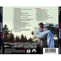 Pet Sematary Soundtrack (Elliot Goldenthal) - CD Back cover