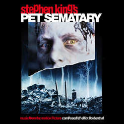 Pet Sematary Soundtrack (Elliot Goldenthal) - CD cover