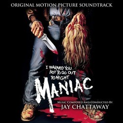 Maniac Soundtrack (Jay Chattaway) - CD cover