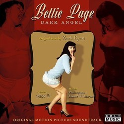 Bettie Page: Dark Angel Soundtrack (Danny B. Harvey, Zack Ryan) - CD cover